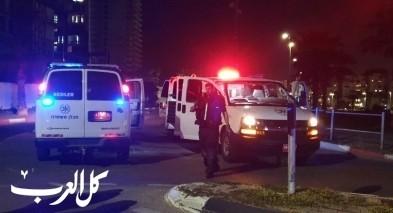 تل ابيب: اصابة سائق سيارة اجرة بعد تعرضه للطعن