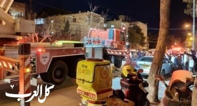 تخليص فتى (14 عامًا) سقط عن ارتفاع في القدس