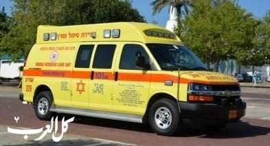 إحالة طفلة من تل عراد للمستشفى إثر تعرضها للغرق