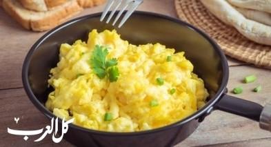 طريقة تحضير البيض لوجبة فطور شهية