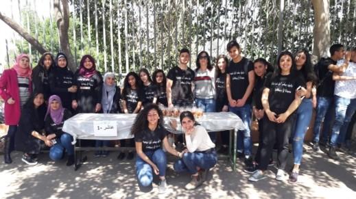 الثانوية البلدية في شفاعمرو تنظم سوقًا خيريًا