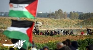 جمعة المسيرات خيارنا على حدود غزة