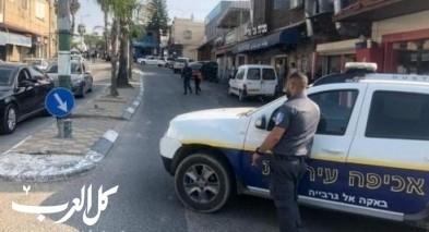 الشرطة تفكك قنبلة في باقة الغربية