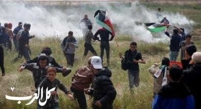 غزة: شهيدان وعشرات المصابين في الجمعة الـ 51