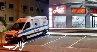المكر: اصابة شاب باطلاق نار