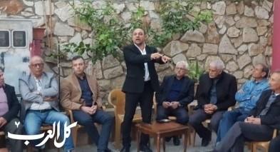 اجتماع انتخابي لتحالف الموحدة والتجمع في نحف
