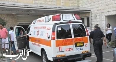 إصابة شاب بحادث طرق ذاتي في تل أبيب