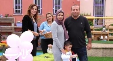 ديرحنا: روضة العصافير تحتفل بيوم الأسرة