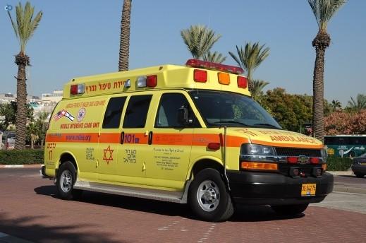 اصابتان جراء حادث طرق في تل ابيب