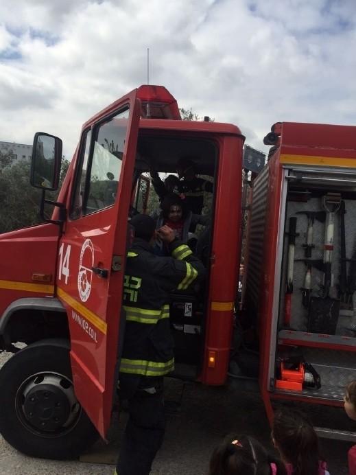 اندلاع حريق داخل منزل في رهط