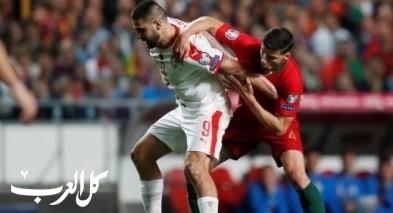 البرتغال يتعادل أمام صربيا فى مباراة مثيرة للجدل
