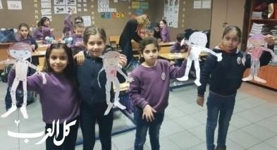 أسبوع العلوم بمدرسة الانجيلية في الناصرة