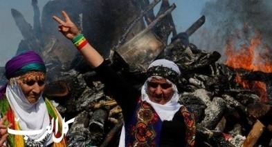 الاحتفال بعيد النوروز في ديار بكر- تركيا