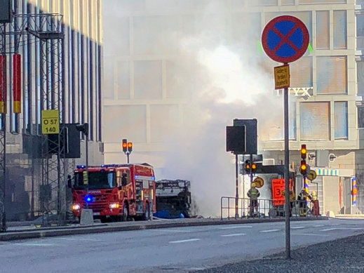 إصابة عدة أشخاص إثر انفجار غرب ستوكهولم