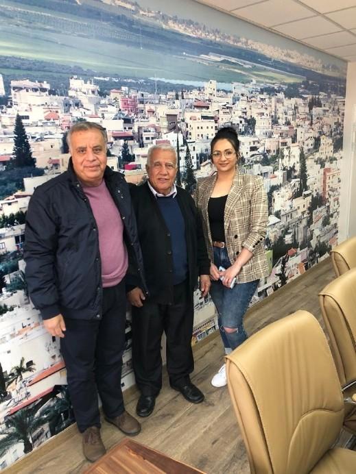 رئيس مجلس أبو سنان يستقبل كايد ظاهر