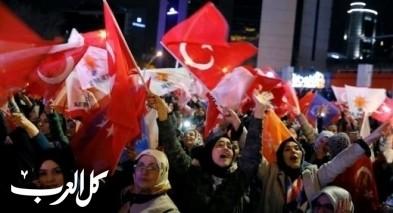 هزيمة مدوية لحزب إردوغان في أنقرة واسطنبول