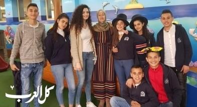 مجلس طلاب المصرارة بزيارة مستشفى شنادير