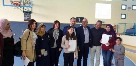 الناصرة: بيلسان عثمان تتألق بمسابقة الخطابة