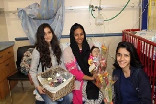 أم الفحم: طلاب اسكندر في مستشفى هلل يافه