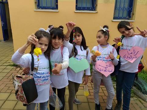 مدرسة اكسال ج تتألق بيوم الأعمال الخيرية