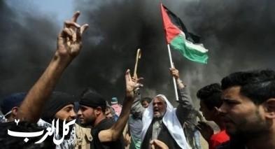 غزة: شهيد و7 إصابات بجمعة مواجهة التطبيع