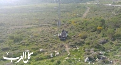 إصابة شاب إثر انقلاب سيارته بالقرب من مجدل شمس