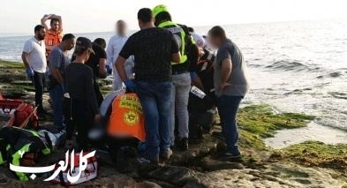 غرق طفل (6 سنوات) في إحدى شواطئ نهاريا