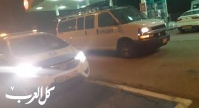 اعتقال شابين من قرية الشبلي بشبهة السطو على محطة وقود