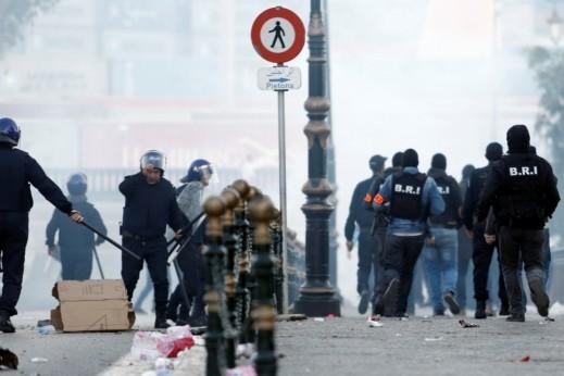 اعتقالات خلال مواجهات بالجزائر العاصمة