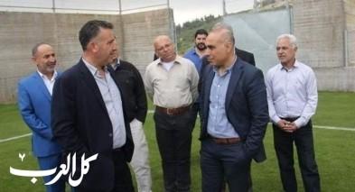 رئيس بلدية سلفيت يزور كوكب ابو الهيجاء ضمن العمل