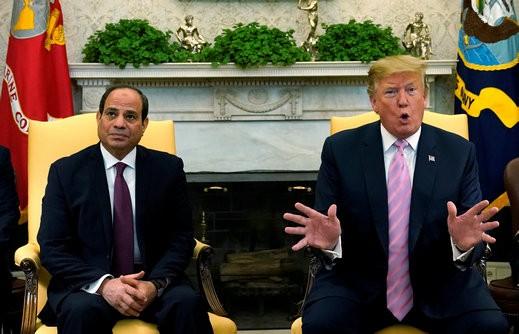 مسؤول مصري: ترامب لم يقدم للسيسي صفقة القرن