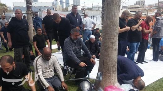 يافا: جرافات بلدية تل أبيب تقتحم مقبرة الإسعاف