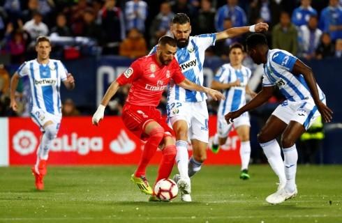 ريال مدريد يفشل في الفوز على ليجانيس في الدوري