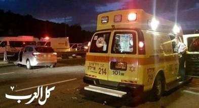 عكا: إصابة شاب بجراح خطيرة بحادث طرق