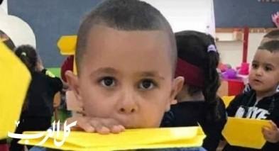 الرملة تفجع بوفاة الطفل محمد أنس أبو غانم (5 سنوات)