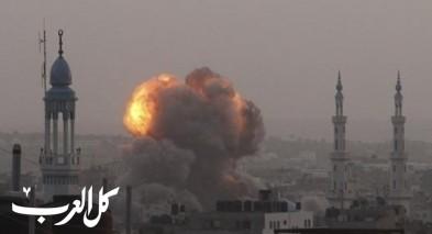 الجيش الاسرائيلي يقصف عدة اهداف في غزة