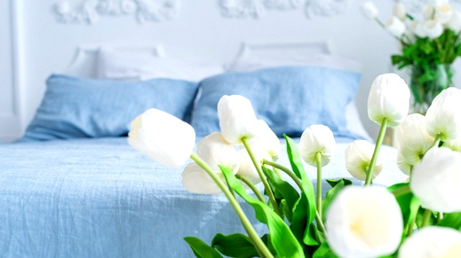 نصائح لتنسّقي الأزهار في غرف النوم