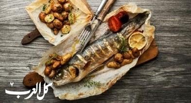 طريقة تحضير سمك مشوي بالخلطة الحارة