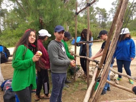 القادة الشابة من الرازي اكسال في مخيم الربيع