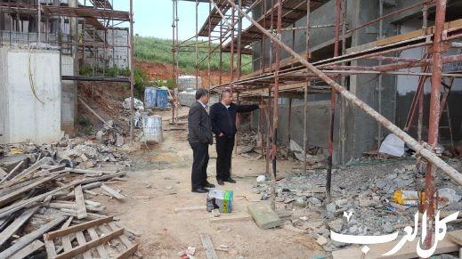 أم الفحم: رئيس البلدية يتفقد مشاريع عمرانية