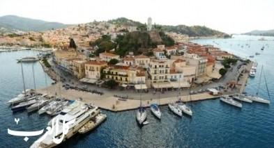 8 مناطق سياحية في جزيرة بوروس اليونانية
