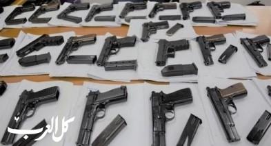 اعتقال مشتبهين من باقة بمحاولة تهريب أسلحة