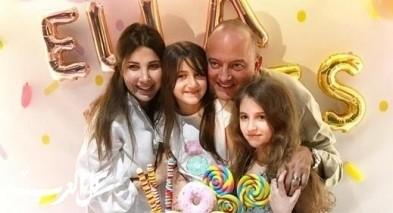 نانسي عجرم تحتفل بعيد ميلاد ابنتها إيلا