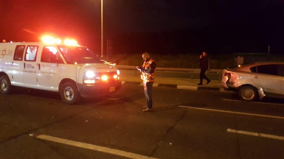 كفرقرع: إصابة شخصين إثر حادث طرق