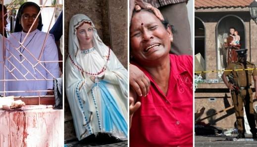 الفصح الدامي بسريلانكا: صور تلخص مأساة التفجيرات