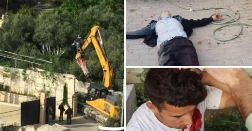 القدس: القوات تهدم منزلين بحي سلوان