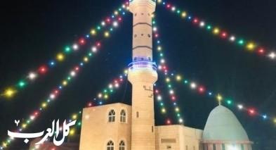 يافة الناصرة: مسجد الرحمة يستقبل رمضان