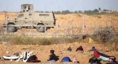 غزة: اصابة جنديين ونحو 40 مواطنا