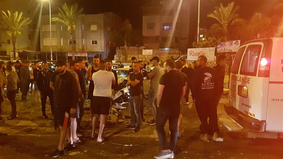اصابة 4 اشخاص بجراح خطيرة ومتوسطة بحادث قرب ديرحنا