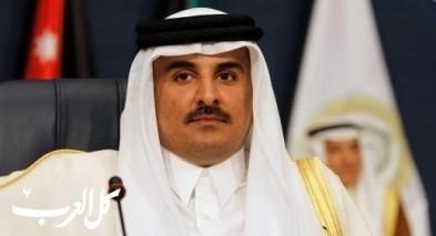أمير قطر يتلقى اتصالا من رئيس حكومة البحرين